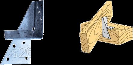 Соединитель универс. LU 2 P 100x50x40x2,0