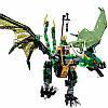 """Конструктор Ниндзяго NINJAGO 10526 """"Зелёный энерджи дракон Ллойда"""", фото 4"""