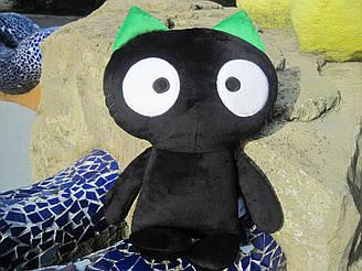 Мягкая игрушка Черный Кот ручная работа