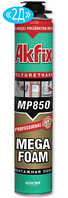 Монтажная полиуретановая пена Akfix MEGA 850P 65 л