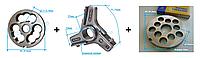 Комплект полуунгер H82 с решеткой 14 мм + нож со сменными лезвиями