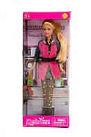 Кукла для девочки Defa 8273 Большая модница с  аксессуарами в коробке