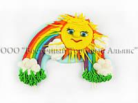 Фигурки из мастики - Радуга с Солнышком