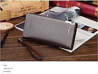 Клатч портмоне Baellery NEW, коричневый, фото 1