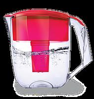 Фильтр для воды кувшин Наша Вода Максима Maxima Красный