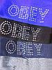 Шапка женская стразы obey, фото 2