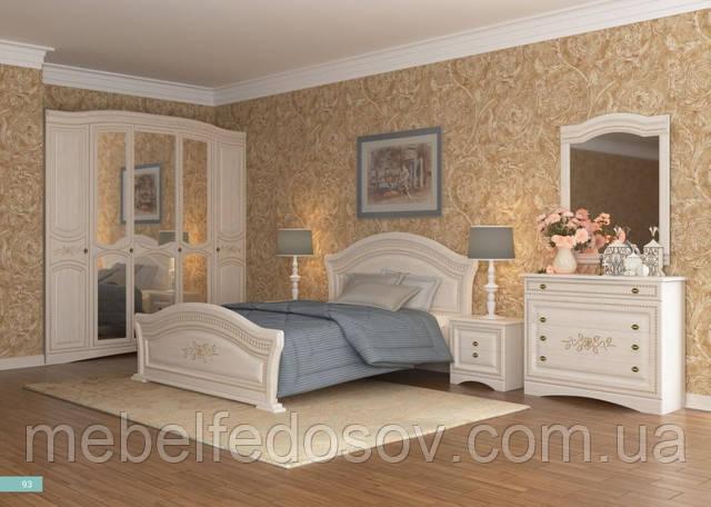 спальня венера люкс цвет береза