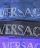 Шапка женская стразы versace, фото 2