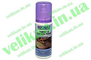 Водоотталкивающий спрей Nikwax Fabric & leather proof 125ml ткань и кожа