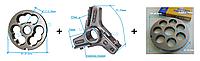 Комплект полуунгер H82 с решеткой 18 мм + нож со сменными лезвиями