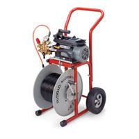 Гидродинамическая прочистная машина с электроприводом KJ-1750