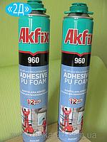 Клей-пена для пенопласта Akfix 960, Akfix 960