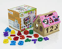 Детская игрушка деревянная для девочки Домик