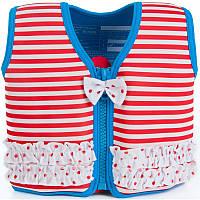 Konfidence - Детский плавательный жилет - поплавок, цвет Marthas Red Stripe