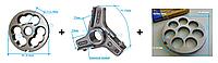 Комплект полуунгер H82 с решеткой 20 мм + нож со сменными лезвиями
