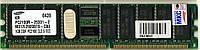 Б/У память для сервера DDR1 1Gb PC2100 266Mhz ECC REG Samsung