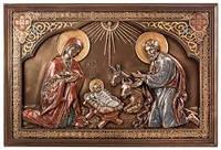 """Икона """"Рождение Иисуса"""" 15х23 см"""