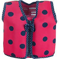 Konfidence - Детский плавательный жилет - поплавок 18 мес-3 года, цвет Pink Navy Ladybird