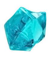 Кристаллы-каунтеры, 10 штук (бирюзовый)  (Acrylic crystall counters, 10)