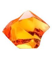 Кристаллы-каунтеры, 10 штук (оранжевый) (Acrylic crystall counters, 10)