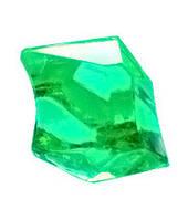 Кристаллы-каунтеры, 10 штук (салатовый)  (Acrylic crystall counters, 10)