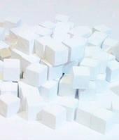 Кубики, каунтеры, токены, 5 шт (белый) (Cubes, counters, tokens 5 pieces)