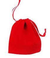 Мешочек для кубиков 22,5х15 см (рубиновый)  (Velvet dice bag 22,5x15 cm)