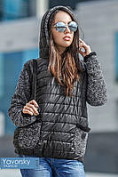 """Женская куртка анорак """"Панна"""" с капюшоном"""