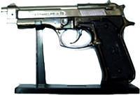 Зажигалка-револьвер в кобуре большой
