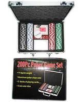 """Игра настольная """"Poker"""" в металлическом чемодане"""