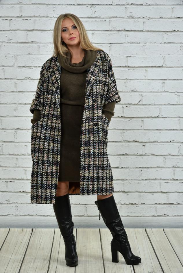 Пальто женское большого размера ( р 42-74 )