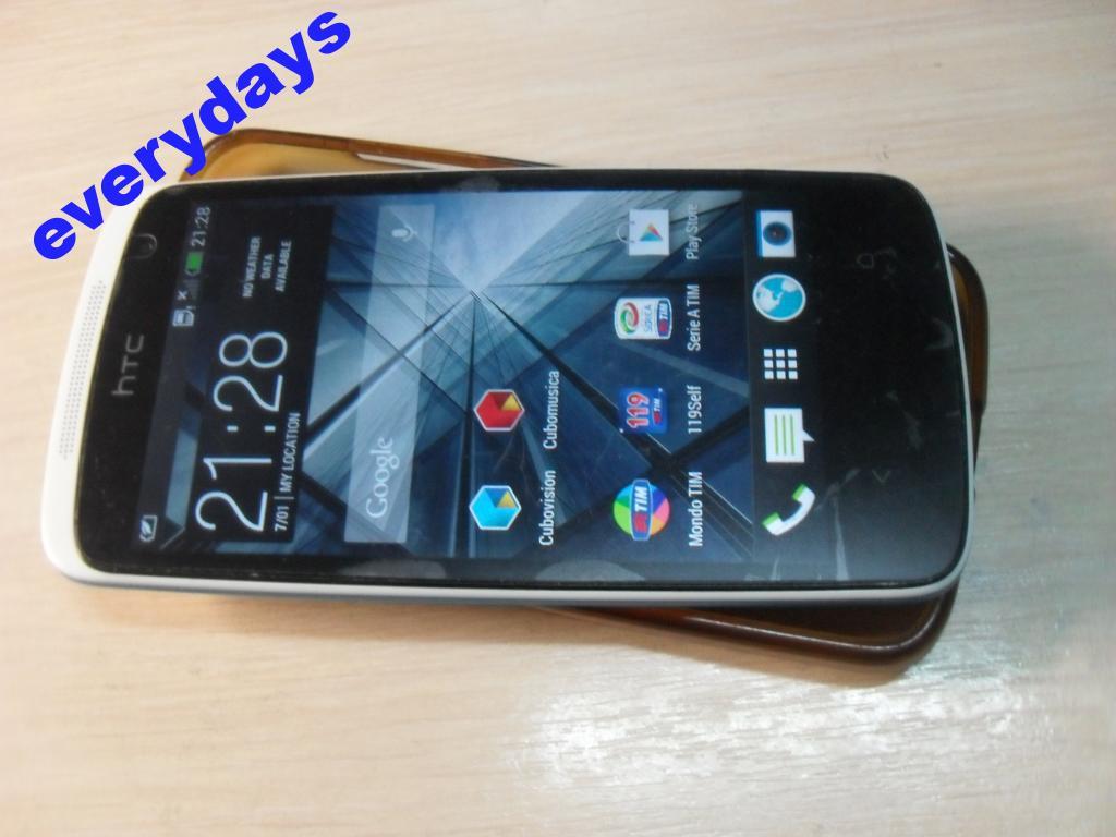 HTC Desire 500 Glacier Blu #1063 на запчастини