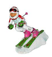 Лыжник 20х14см