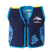 Konfidence - Детский плавательный жилет - поплавок 18 мес-3 года, цвет Palm/Blue