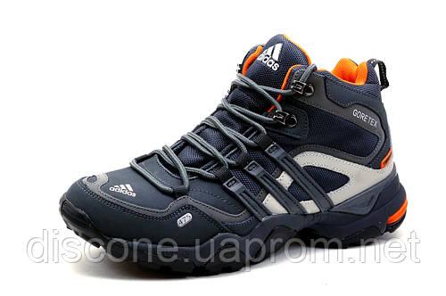 Кроссовки Adidas Gore Tex, мужские, темно-серые
