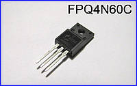 4N60C, MOSFET, полевой транзистор.