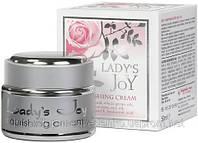 """Питательный крем  """"Lady`s Joy"""" с натуральным розовым маслом """"Болгарская роза - Карлово"""" 50 мл, фото 1"""