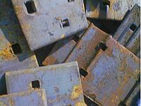 Подкладка КБ-65 рельсовая