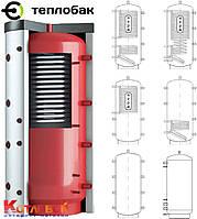 Тепловой аккумулятор из черной стали ТеплоБак с изоляцией с изоляцией ВТА-1, 400 л
