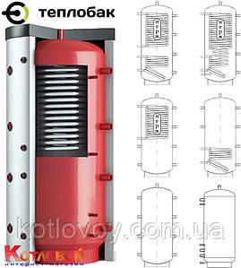 Тепловой аккумулятор из черной стали ТеплоБак с изоляцией с изоляцией ВТА-4, 500 л