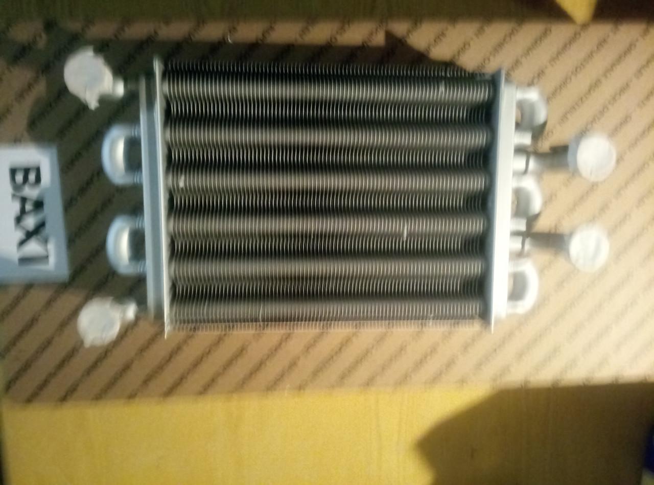 Теплообменник битермический Baxi Mainfouer/Westen Quazar D ( турбированная версия).