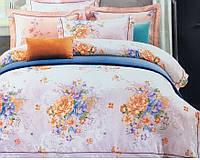 Жаккардовое постельное белье 200х220 Гобелен Prestij Textile 99274