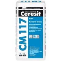 Клей для плитки Ceresit СМ-117 (25кг)