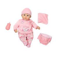 Кукла Беби Анабель Удивительная малышка, 36 см (аксесс., звук, синхр.с планшетом) My First Baby Annabell Zapf