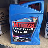 Синтетическое моторное масло Монза (MONZA) GT 5w40 4л