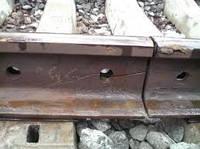 Рельсы железнодорожного пути Р-50