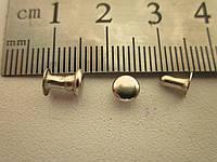 Хольнитен (заклёпка) односторонний 5 х 5 х 5 мм никель