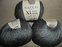 Gazzal Baby Wool XL (Газзал Беби Вул XL)  818 серый