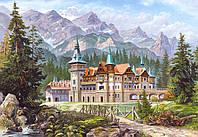 Пазлы Картина - Замок в горах 3000 деталей C-300099