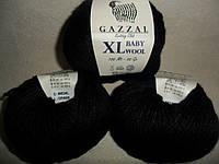 Gazzal Baby Wool XL (Газзал Беби Вул XL)  803 черный
